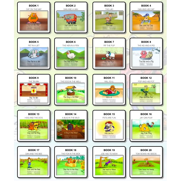 This is a photo of Printable Decodable Books for First Grade within 2nd grade