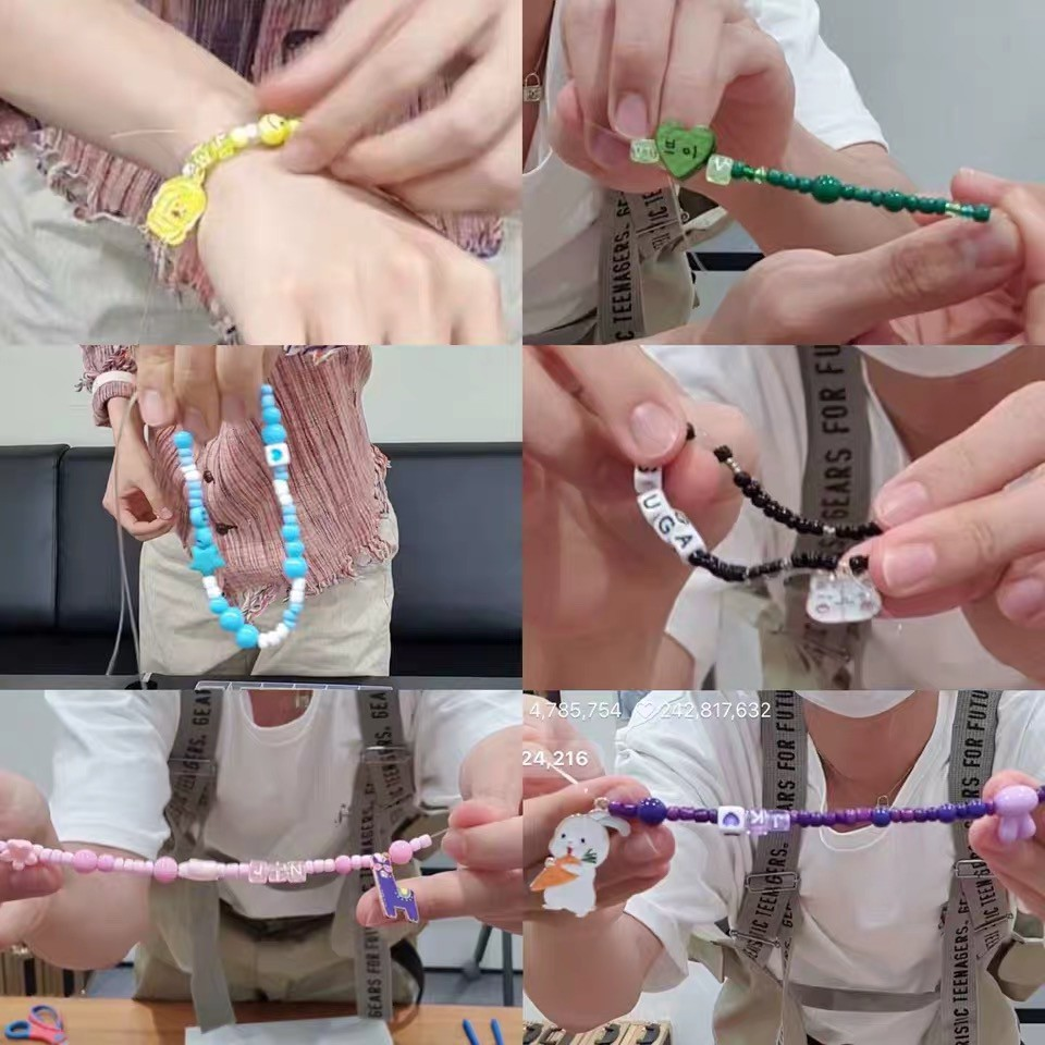 Handmade BTS Bracelet Wire wrapped bracelet unique Bts Bracelet BTS Bracelet