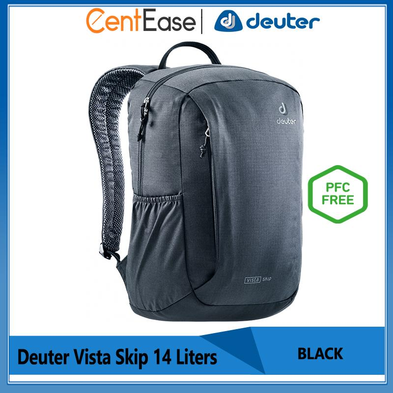 official images most popular new product Deuter Vista Skip 14 Liters Trendy Daypack - High Materials PFC Free | Black