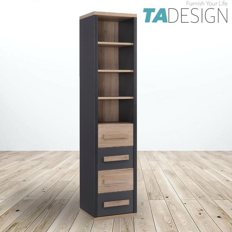 TAD KOBI 4 Drawers book shelf bookcase filling cabinet/ bookcase/ book shelf/ rak buku/ rak buku bruep