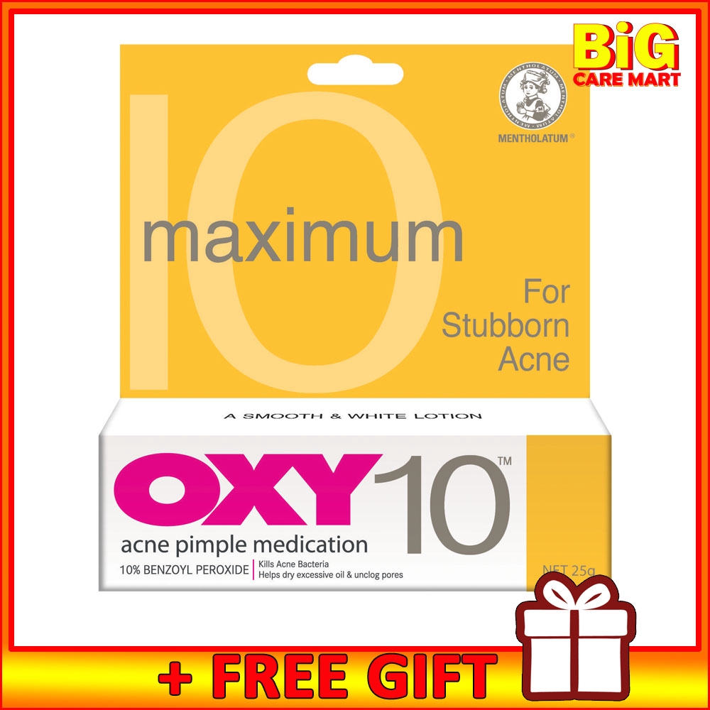 OXY 10 Pimple Treatment 25G + FREE GIFT