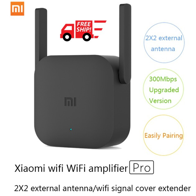 XiaoMi Mi WiFi Repeater 2 Pro 300Mbps 2 4Ghz 2X2 Antenna WiFi Repeater