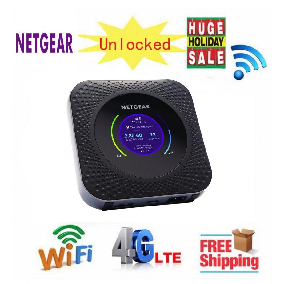 EU Netgear Nighthawk M1 MR1100 LTE CAT16 4GX Gigabit Mobile Router
