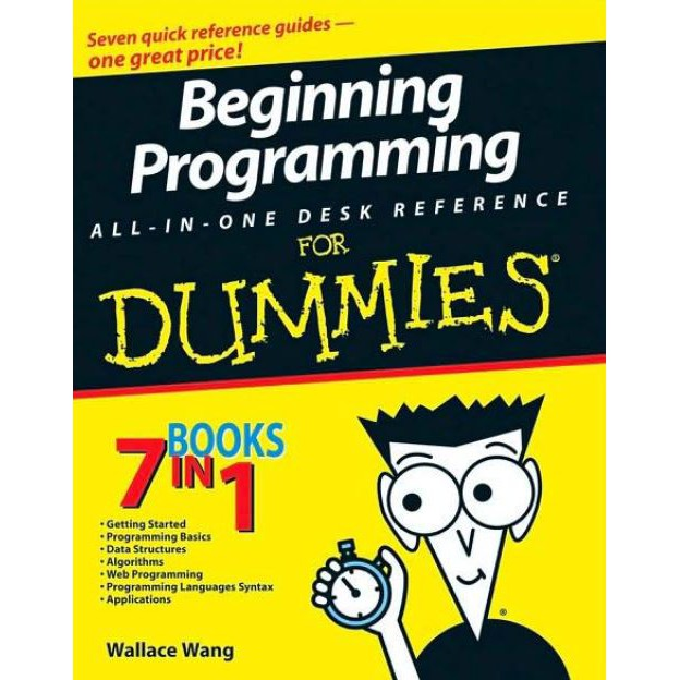 E Book Beginning Programming All In One Desk Reference For Dummies Pdf Shopee Malaysia