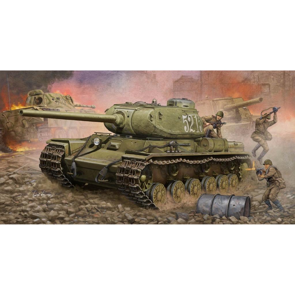 Neu Trumpeter 07128-1:72 Soviet KV-122 Heavy Tank