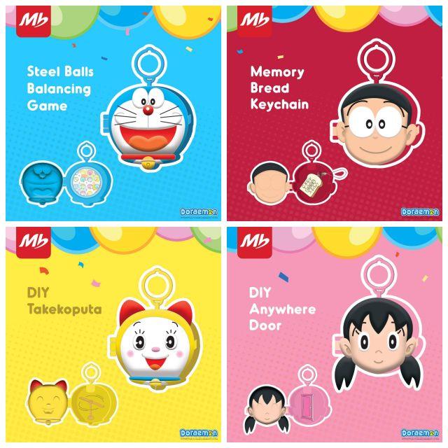 Ready Stock 2020 Doraemon Marrybrown Happy Kids Meal Toy Shopee Malaysia