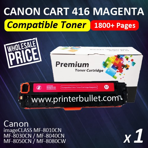 Canon 416 Magenta / Cartridge 416 High Quality Compatible Laser Toner Cartridge