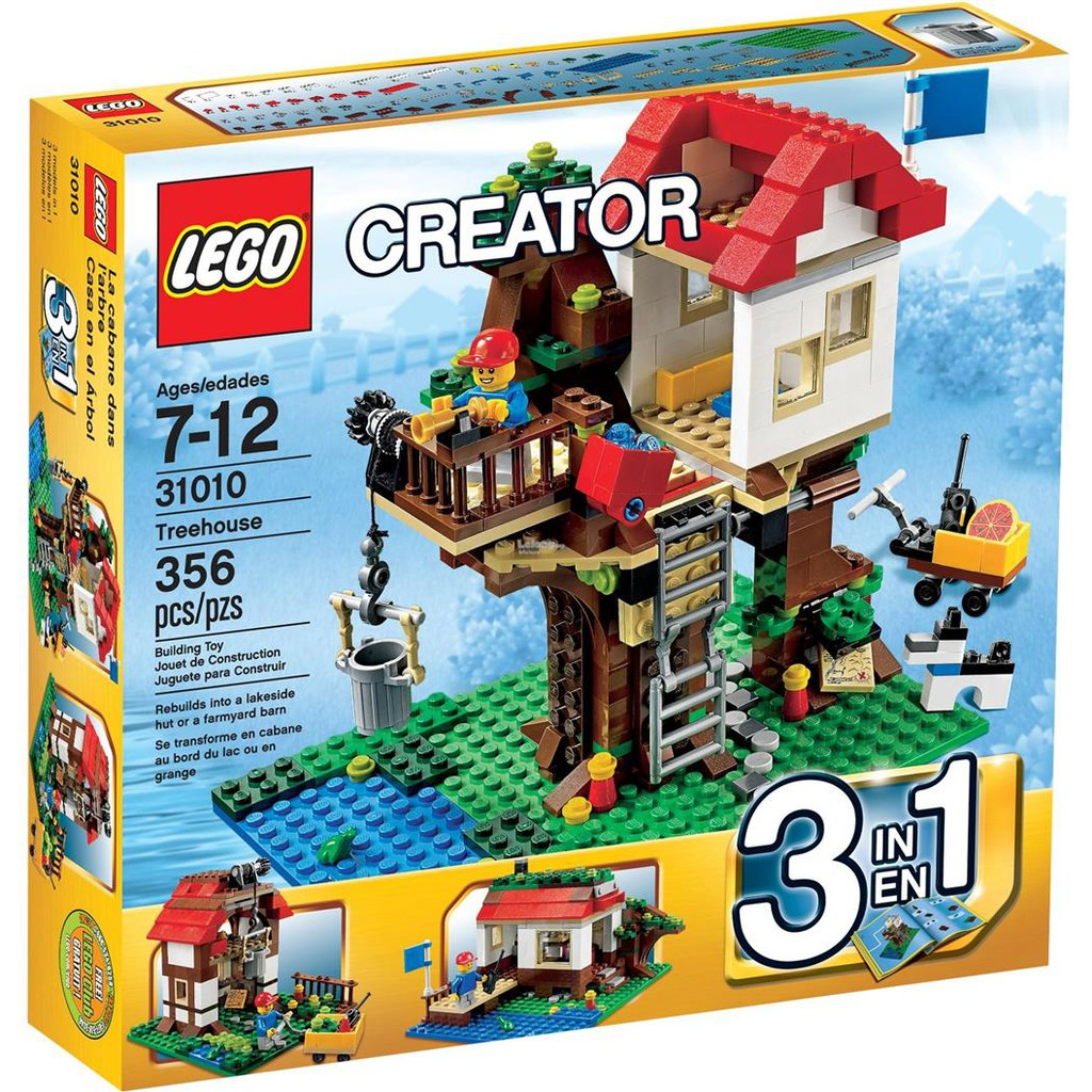 Lego Creator 10249 Winter Toy Shop Shopee Malaysia Exclusive