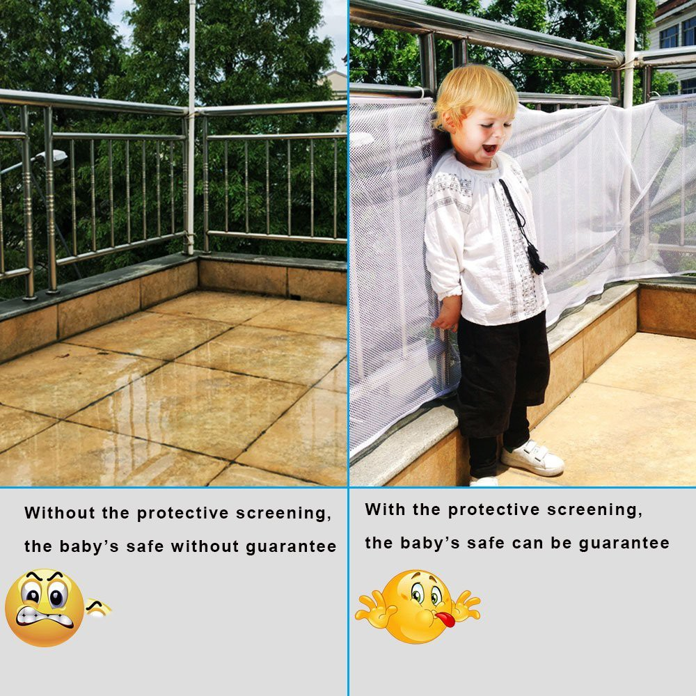 🚛Ready stock Local📦 Baby Children Kids Fencing Protect Balcony Safety Fence Net 3meter