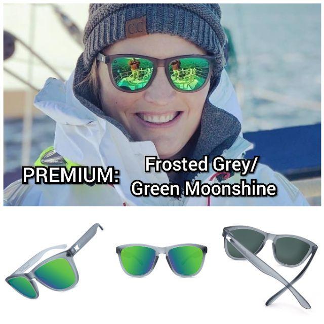 c298c7509f KNOCKAROUND KIDS PREMIUM Clear  Green Moonshine