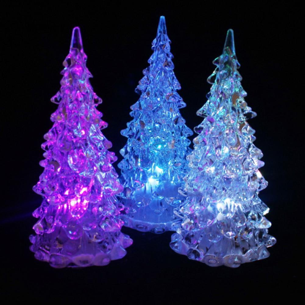 xx88mall Fashion Color Changing Christmas Tree Decoration Night Light Lamp  Xmas Gift