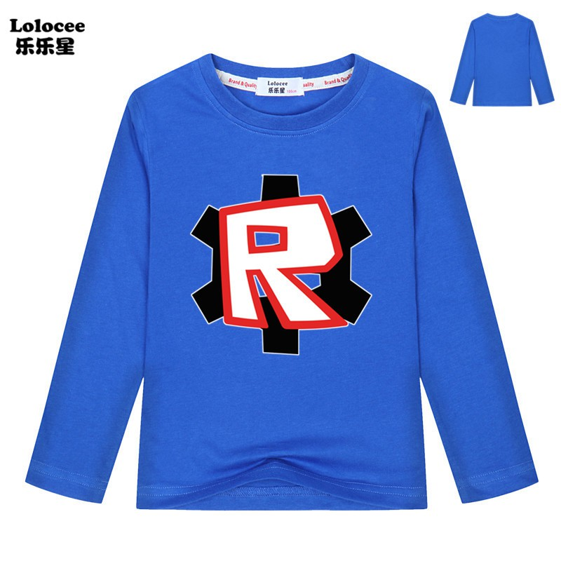 Alan Walker T Shirt Roblox Robux E Gift Card Boys Roblox Video Game R Print Comfortable Outdoor Black Long Sleeve T Shirts Shopee Malaysia
