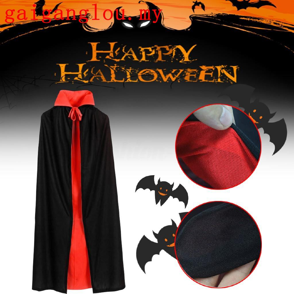 Satan Cape Roblox - Halloween Vampire Cloak Adult Kids Dracula Devil Cape Cosplay