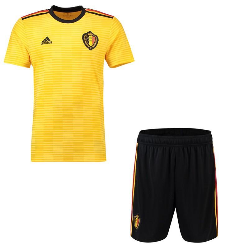 b21721559 ProductImage. ProductImage. YK 2018 World Cup Boys Belgium National Team  away Kit Kids Football Jersey Kids Football shirts ...