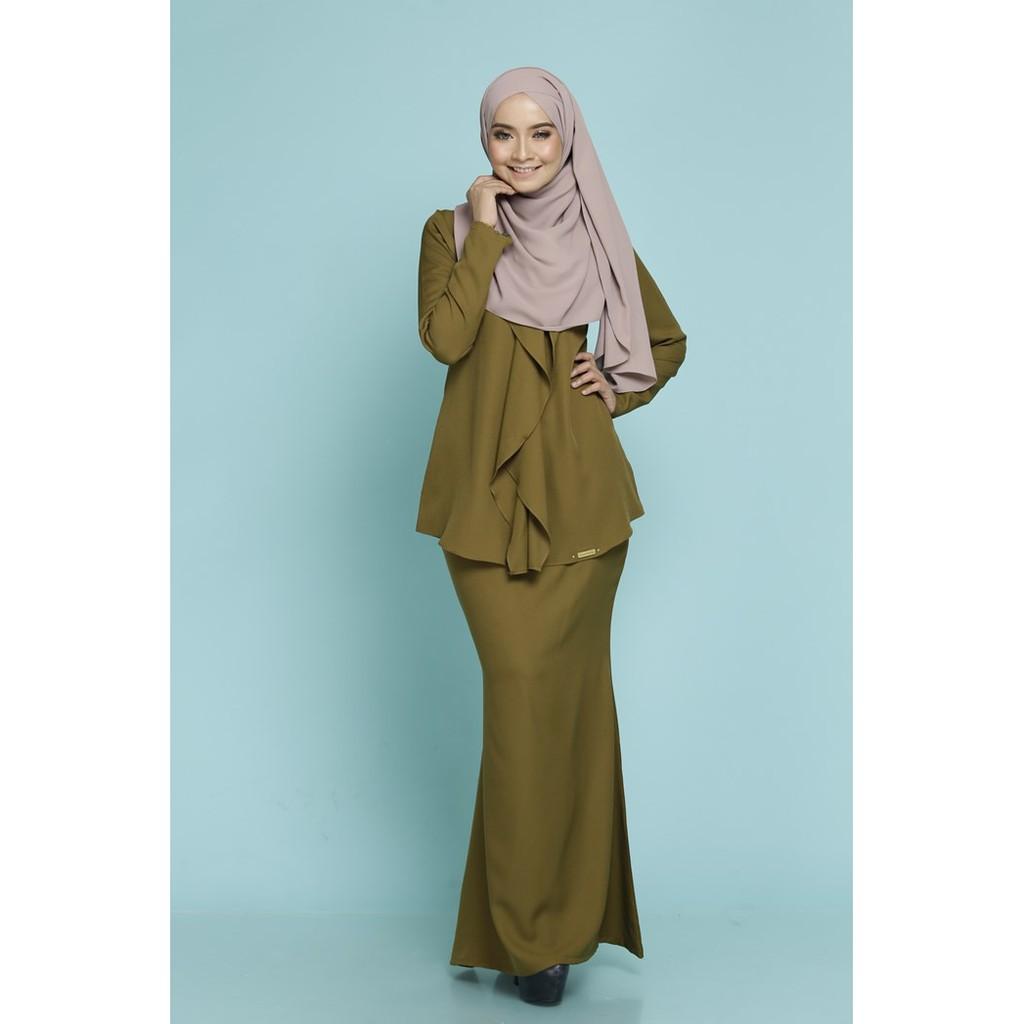 AURELIA NUDE CREAM KURUNG MODEN - Scarffeya | Malaysia Top Leading Muslimah Fashion Online Shop