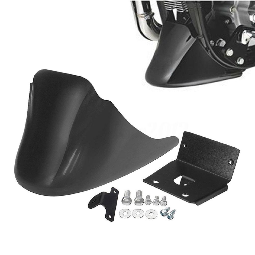 Chin Fairing Front Spoiler For Harley Sportster 1200 883 XL1200V XL883N Custom Motorcycle Matte black