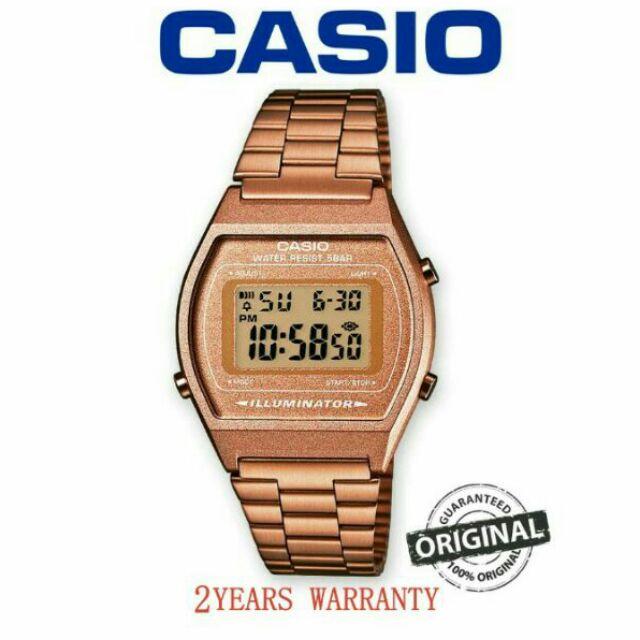 Casio B650wc-5 Rose Gold Casio Vintage Retro Unisex Watch Special Edition Mother & Kids Bodysuits & One-pieces