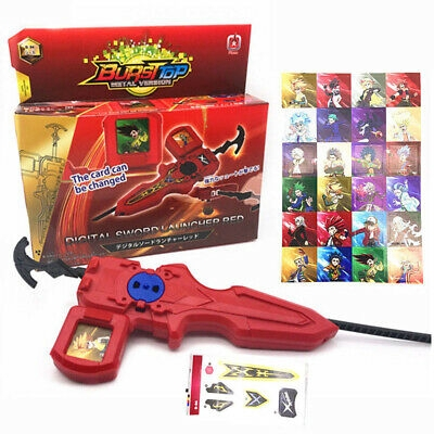 New Battle Set Kids Toys Beyblade Burst Parts B-94 Digital Sword Launcher Ver