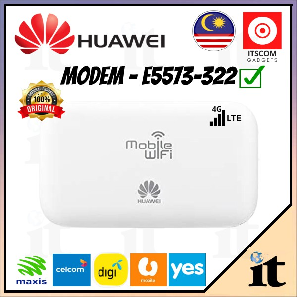 Huawei E5573Cs-322 4G 150Mbps Mifi Portable Hotspot Router