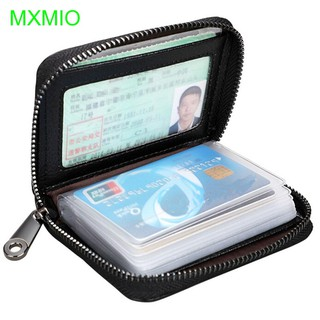 55d0b3471e52 with 20 Card Slots Cowhide RFID Cards Zipper Purse For Credit Card ...