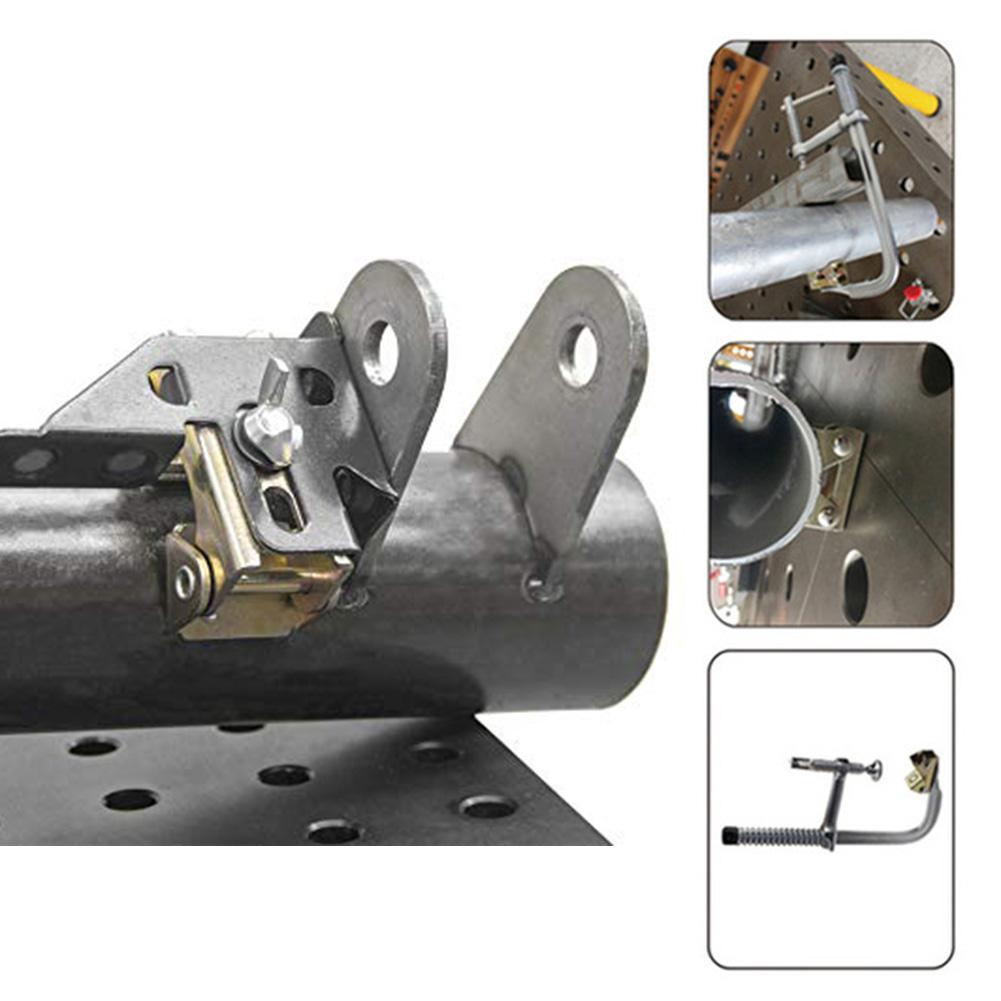 4Pcs V Type Magnetic Welding Clamps Holder Suspender Fixture Adjustable V PaDDD@
