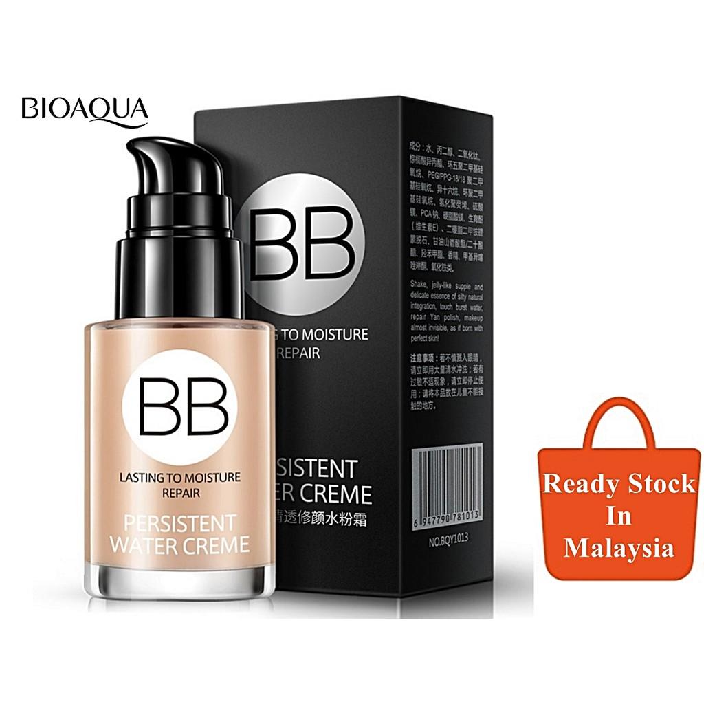 Bioaqua Silky Concealer Super Wearing Bb Cream 30ml Shopee Light Beige 03 Cushion Exquisite Delicate Plus Refill Malaysia
