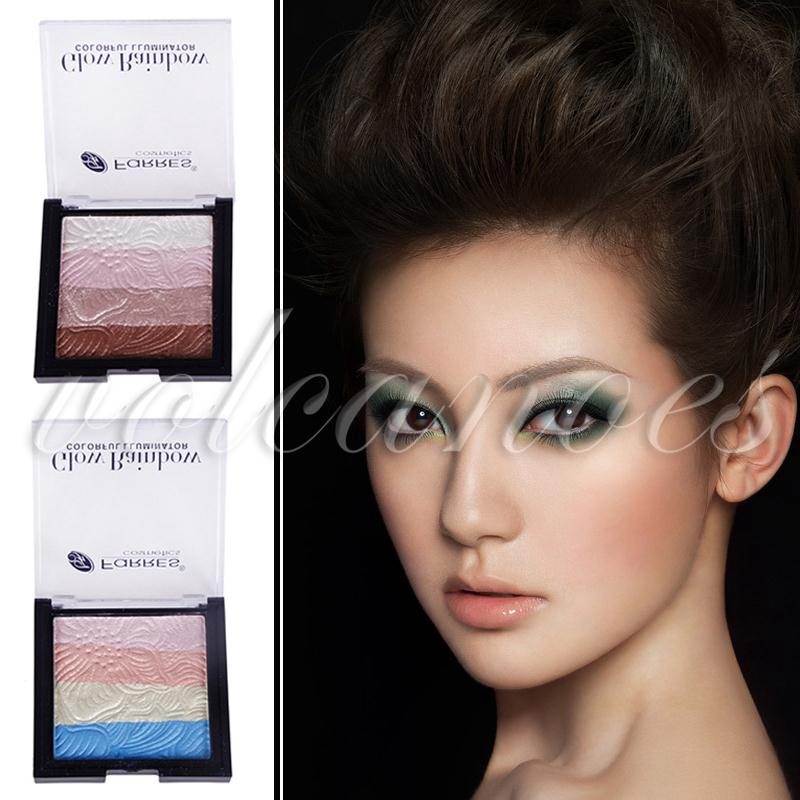 VOL FaRRES Matte Eye Shadow Eyeshadow Set Rainbow Color 4 Colors Party Fashion
