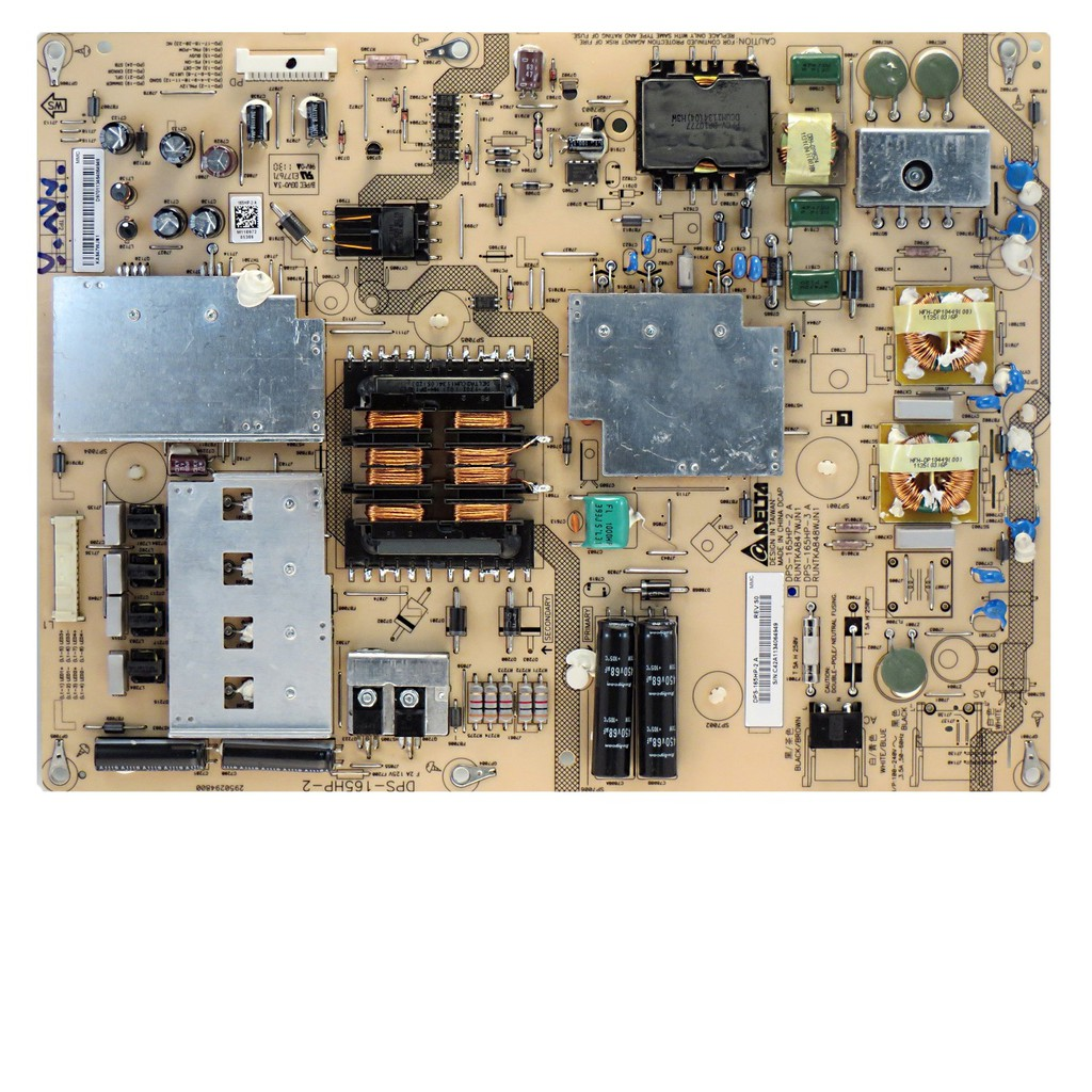Plug Type: Universal Pukido Original for Sharp LCD-60LX531A power board RUNTKA847WJQZ DPS-165HP A