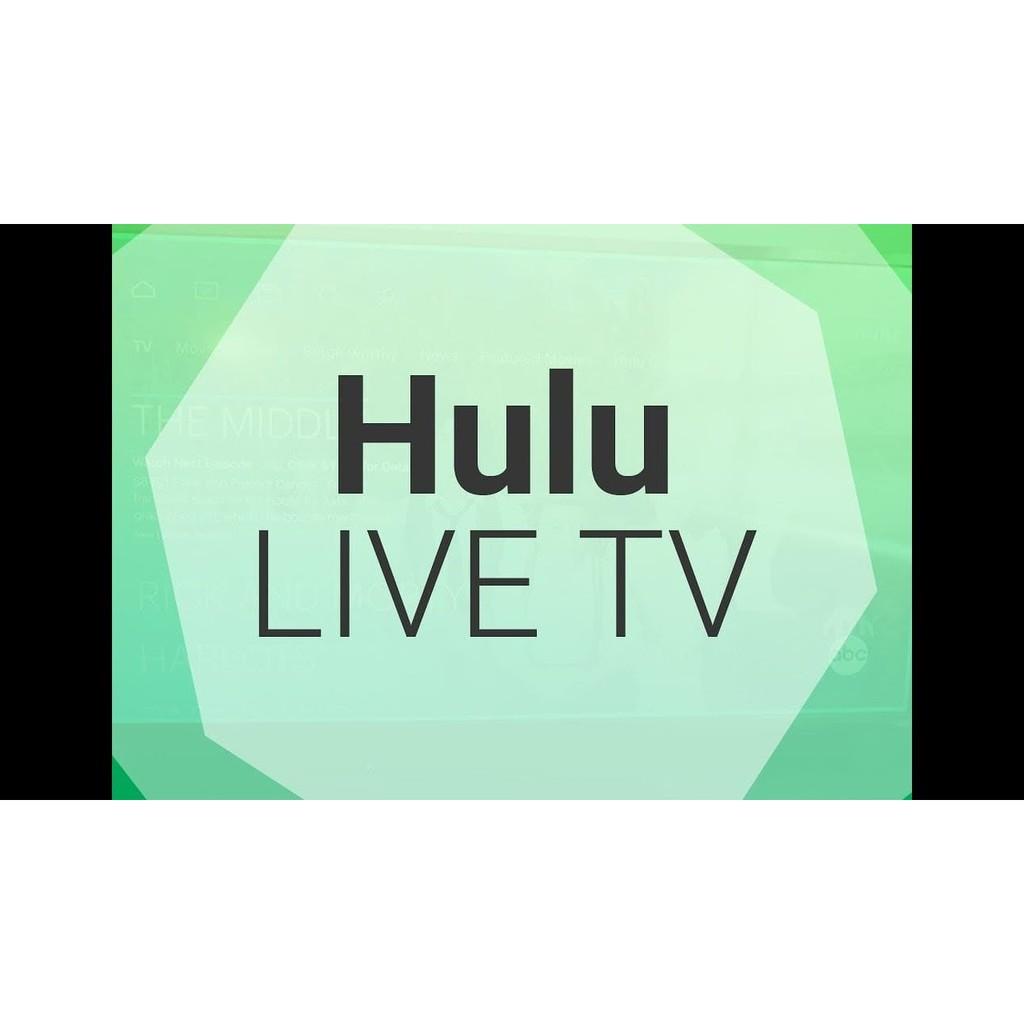 Hulu Premium Live TV Premium Account Lifetime Replacement Warranty Instant