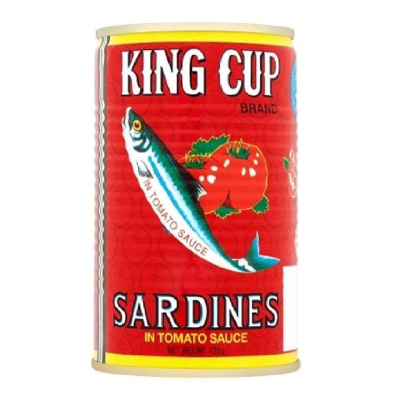 King Cup Sardine in Tomato Sauce 425g