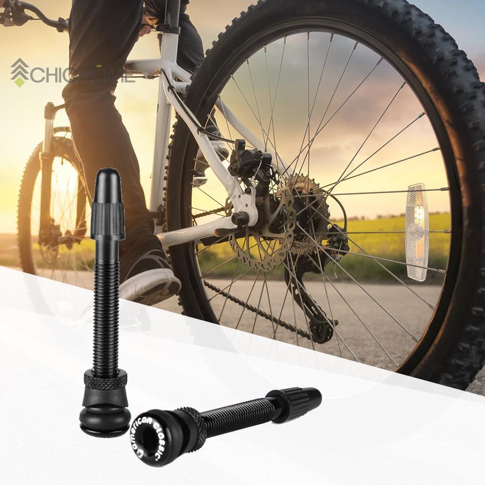 1 Pair Tire Valve Stem Extender Carbon Rim Tubeless Ultra-light Road Bike