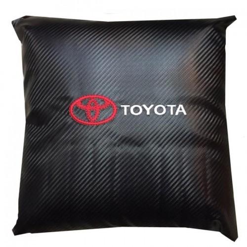 Toyota Carbon Micro-fibre Car Pillow