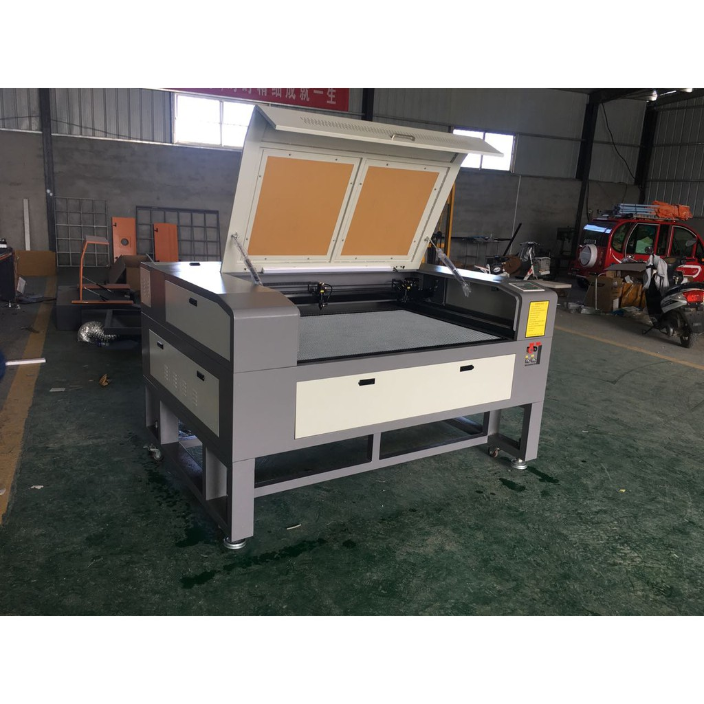 DUAL laser head 13090 80w laser cutting machine