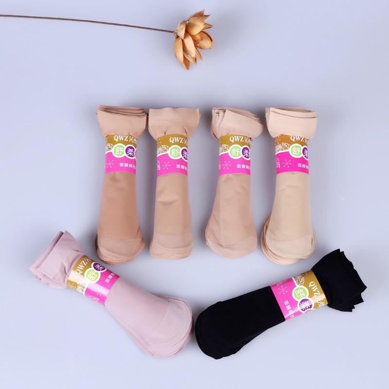 🌈Ka Fu🌈สต็อก ผู้หญิง ถุงเท้า ยางยืด ทนทาน ถุงน่อง ถุงเท้าข้