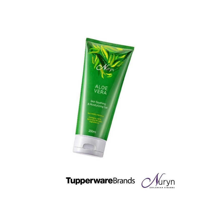 Tupperware Nuryn Aloe Vera Skin Soothing & Moisturizing Gel Twin Pack(1pc) 200ml