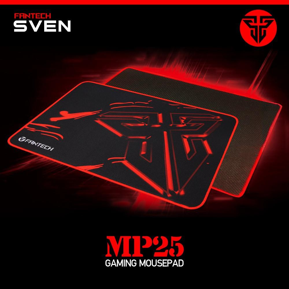 100% Original Fantech SVEN MP25 High Non-Slip Base Gaming Mouse Pad with Edge Sewed