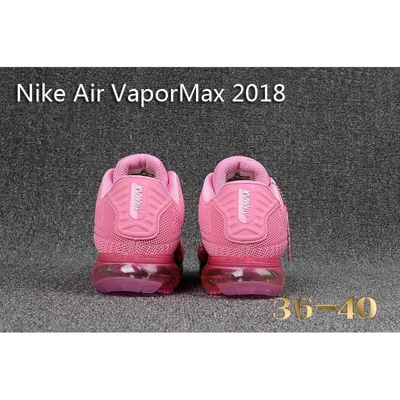 premium selection 1af1f 58646 【cnwholesale】Nike Air VaporMax 2018 Men's Sneakers Pink Rainbow Latest  Recommended