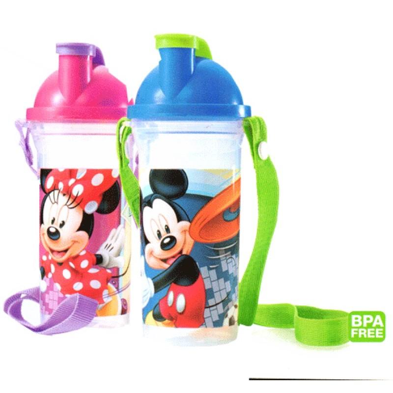 Tupperware Disney Mickey Minnie Mouse Tumbler Bottle 400ml