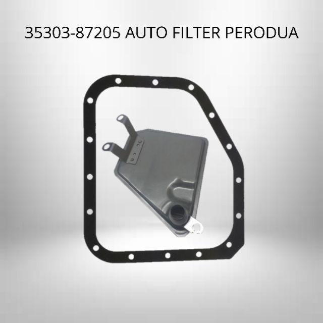 Perodua OEM Auto Filter & Gasket ATF - Perodua Viva Kelisa Kenari Kancil Auto Transmission Filter 35303-87205