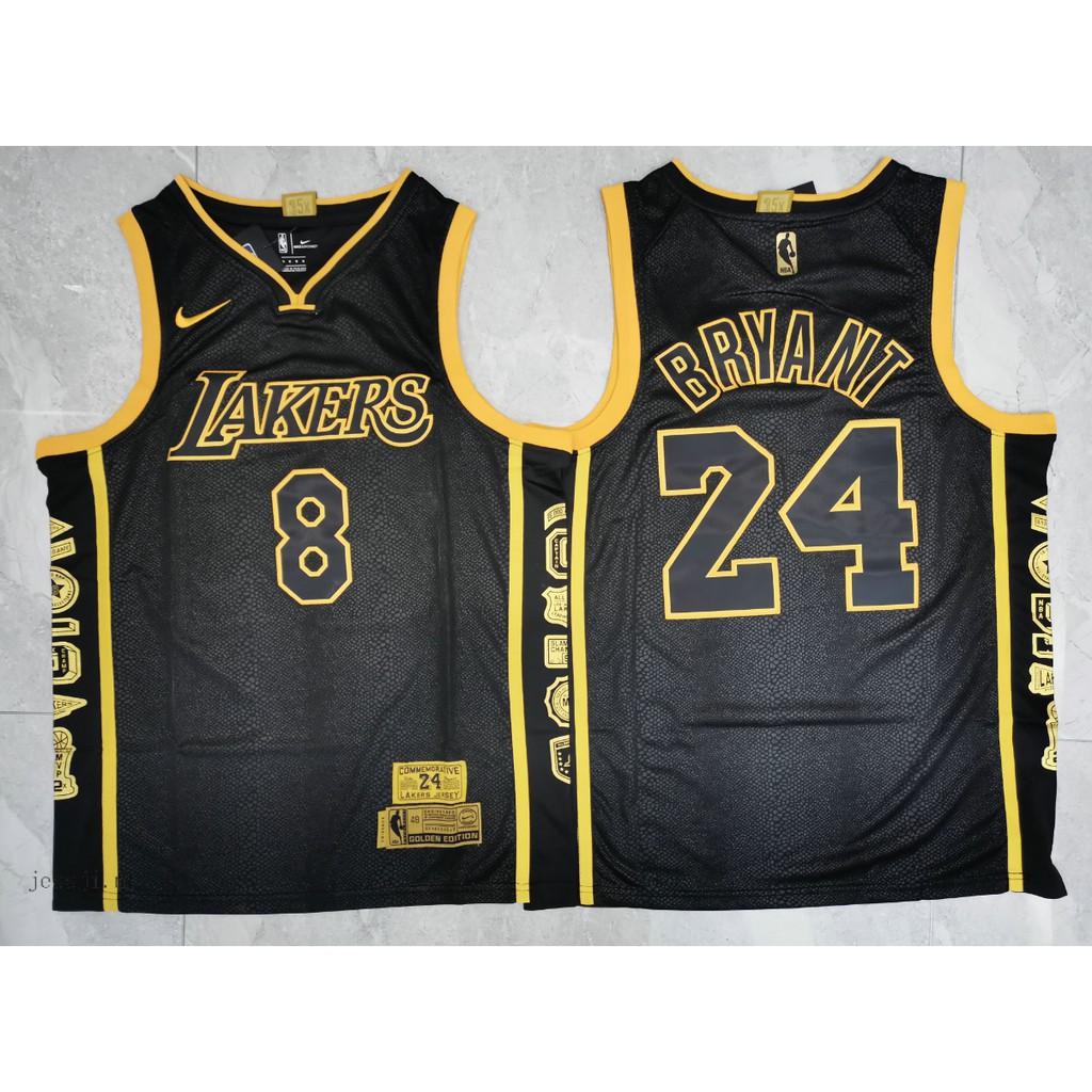 Mamba front 8 back 24 NBA Los Angeles Lakers #8 #24 Kobe Bryant ...
