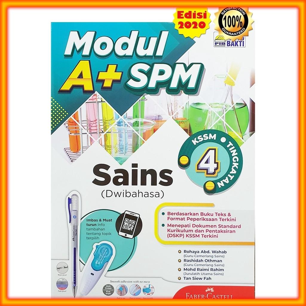 Buku Latihan Modul A Spm Sains Kssm Tingkatan 4 Shopee Malaysia