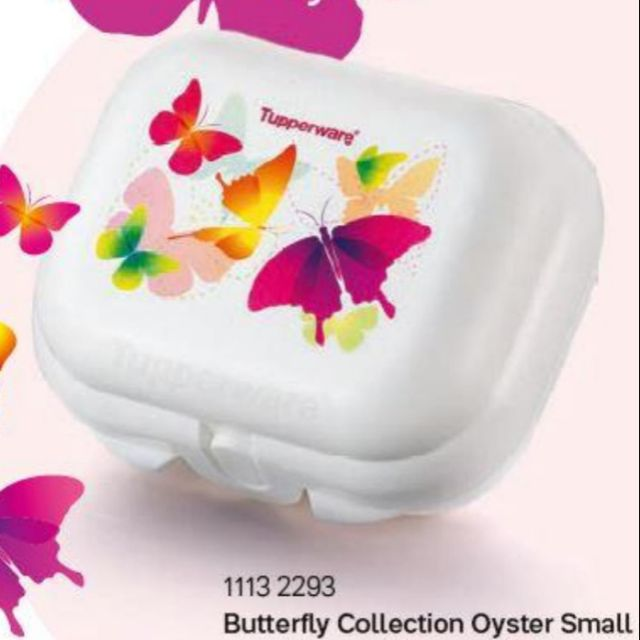[Tupperware] Butterfly Collection Mini Keeper Oyster Small