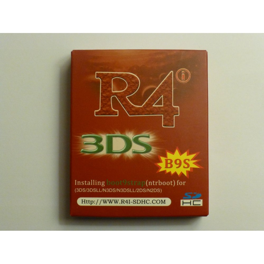 New Flashcart R4i-B9S pre-flashed NTRboot supporting B9S