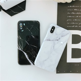 quality design fab3c 189e4 Classic Marble Soft Cover Casing For iPhone 6 6S 7 8 Plus X XS Max ...