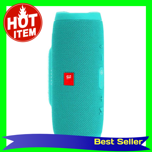 E3 Wireless Waterproof BT Speaker Outdoor Portable Double Diaphragm Mini Stereo (Green)
