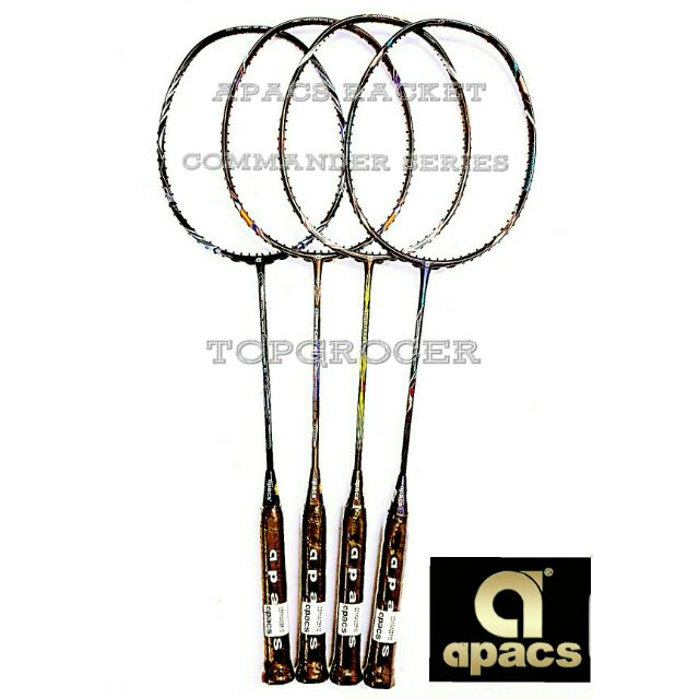 Apacs Badminton Racket Commander Series (1pc)