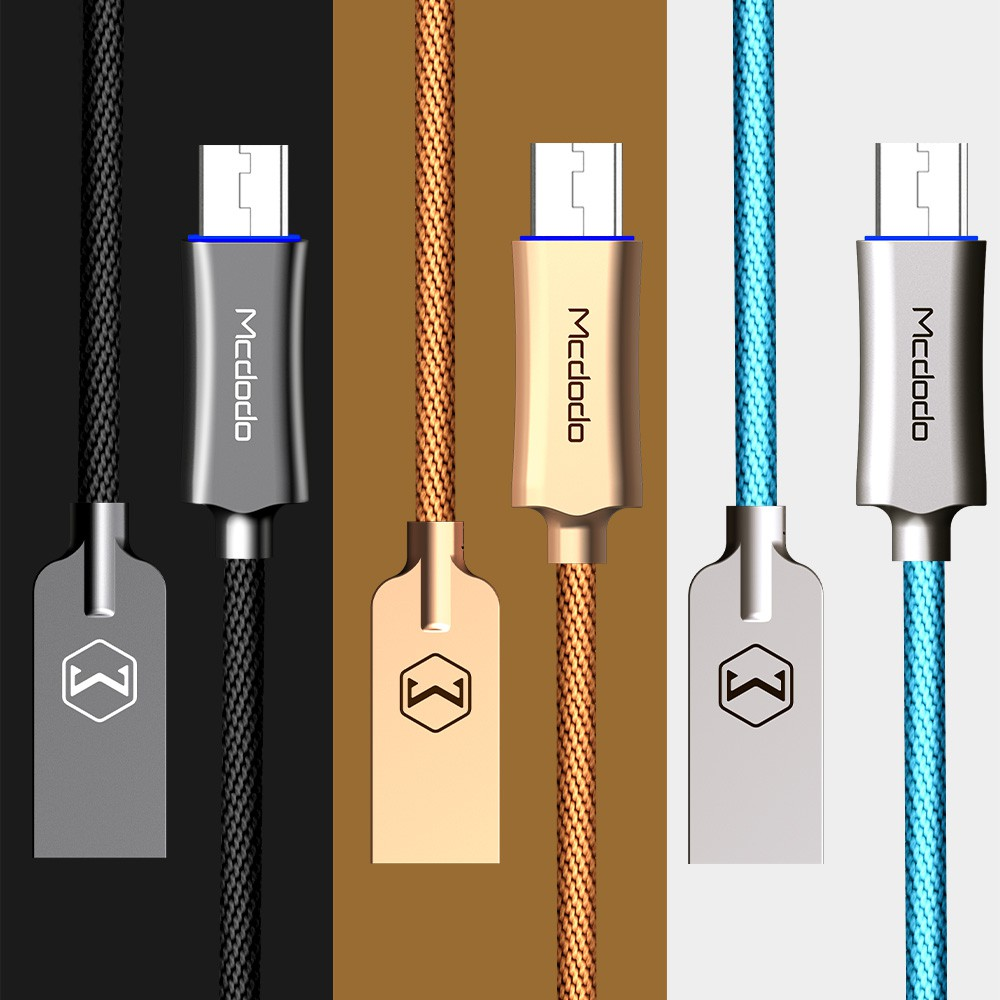 Mcdodo Knight 12m Lightning Auto Disconnect Data Cable Ca 390 Series Charger Iphone Shopee Malaysia