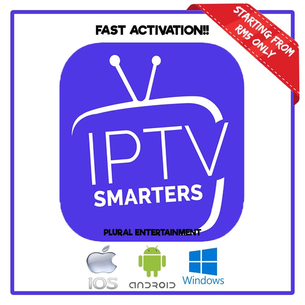 [8000++ Worldwide Channels] Authorised Dealer IPTV Smarters (3/6/12mth)