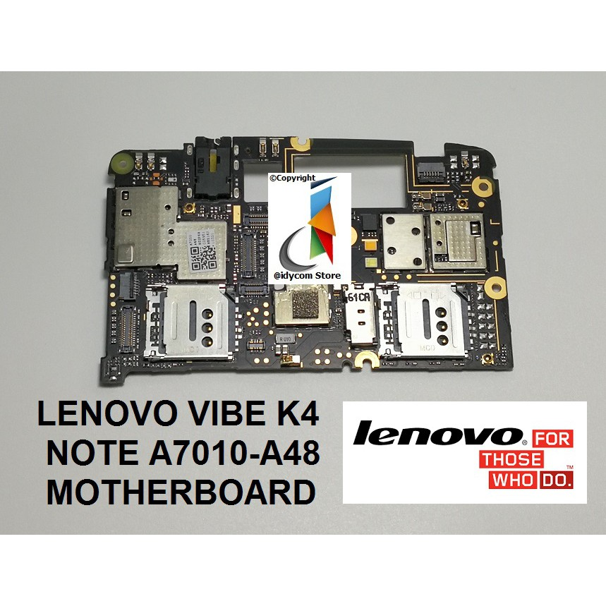 ORIGINAL LENOVO VIBE K4 NOTE A7010-a48 MOTHERBOARD