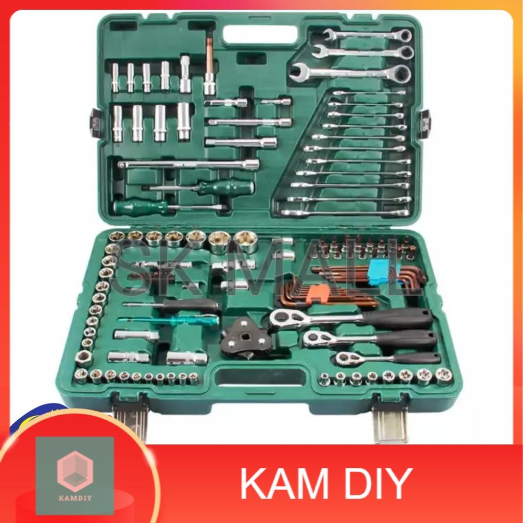 SRUNV TOOL SET / Dr. Master Tool Set 128pcs 1/4'' x 3/8'' x 1/2'' / SRUNV TOOLS 128 pcs